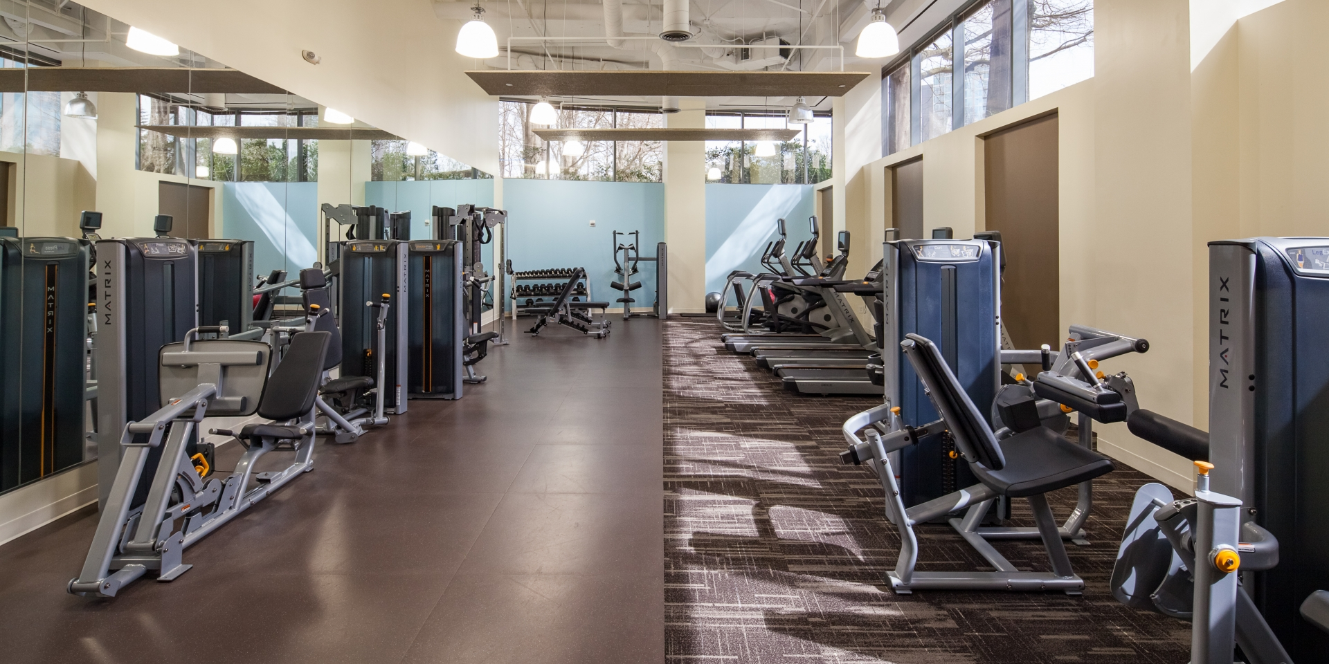 1000 Parkwood - Fitness Room